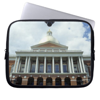 State House Capitol Building, Boston, MA, USA Laptop Sleeve