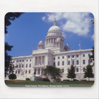 State House, Providence, Rhode Island, U.S.A. Mouse Mat