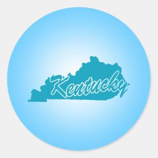 State Kentucky Classic Round Sticker