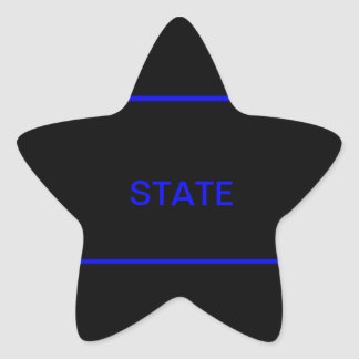 state law enforcement decal stickers