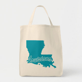 State Louisiana Tote Bag