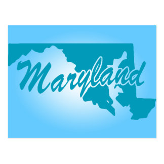 State Maryland Postcard