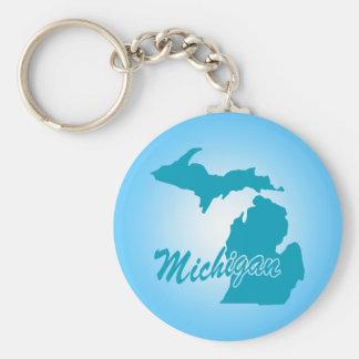 State Michigan Key Ring