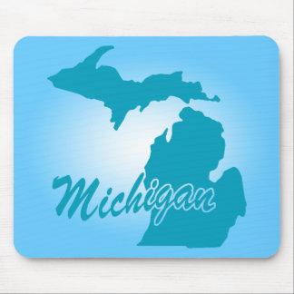 State Michigan Mouse Mat