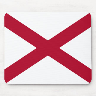 State of Alabama Flag Mouse Mat