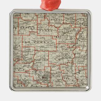 State of Arkansas Christmas Ornament