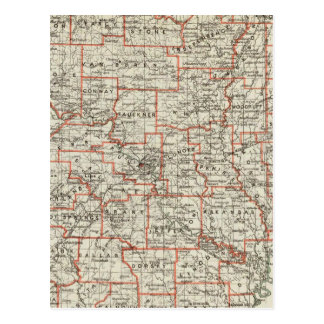 State of Arkansas Postcard