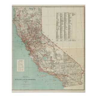 State of California 2 Poster
