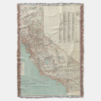 State of California 2 Throw Blanket