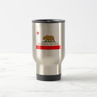 State of California Flag Stainless Steel Travel Mug