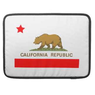 State of California Flag Sleeve For MacBook Pro