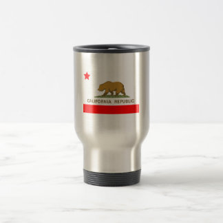 State of California Flag Travel Mug