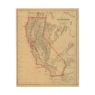 State of California Wood Wall Art