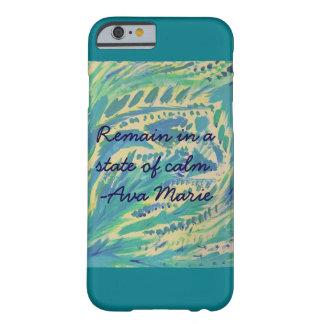 State of Calm (Teal) iPhone 6/6S Case