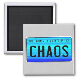 State of Chaos Refrigerator Magnets