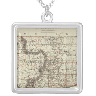 State of Colorado Silver Plated Necklace