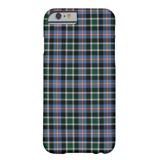 State of Colorado Tartan Pattern Barely There iPhone 6 Case