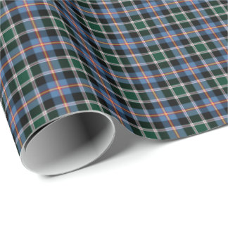 State of Colorado Tartan Wrapping Paper
