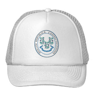 State of Connecticut seal Mesh Hats