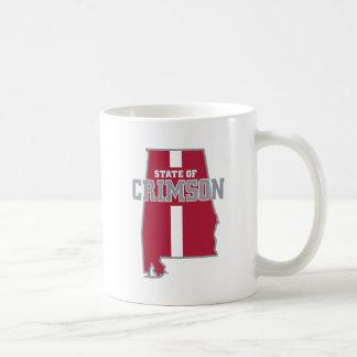 State Of Crimson Coffee Mug