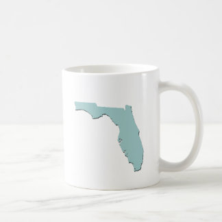 State of Florida Basic White Mug