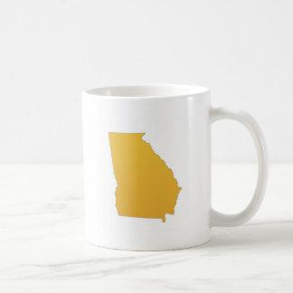 State of Georgia Basic White Mug
