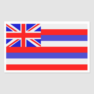 State of Hawaii Rectangular Sticker