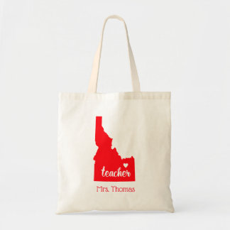 State of Idaho Personalized Teacher Tote