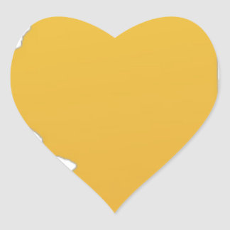 State of Illinois Heart Sticker