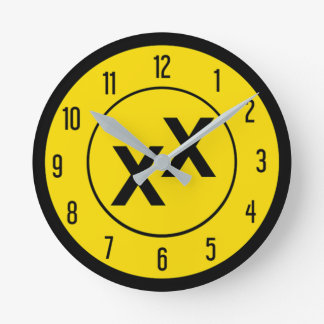 State of Jefferson Double-Cross X X Wall Clock