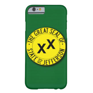 State of Jefferson Flag iPhone 6 Cover Barely There iPhone 6 Case