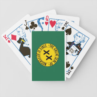 State of Jefferson playing cards