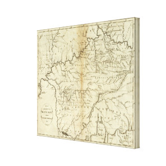 State of Kentucky Canvas Print