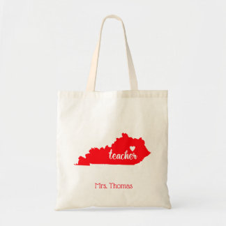 State of Kentucky Personalized Teacher Tote