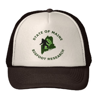 State of Maine Bigfoot Research Trucker Hat