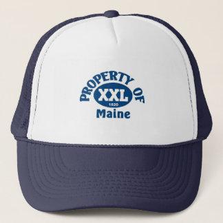 State of maine trucker hat