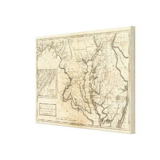 State of Maryland Canvas Print