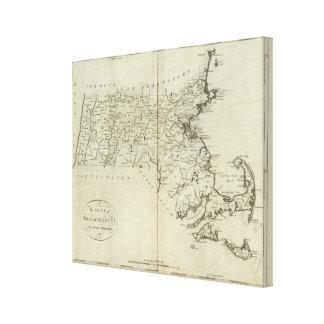 State of Massachusetts Canvas Print