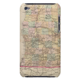 State of Michigan Atlas Map Barely There iPod Cover