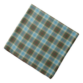 State of Michigan Tartan Bandana