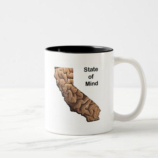 State of Mind: California Two-Tone Coffee Mug