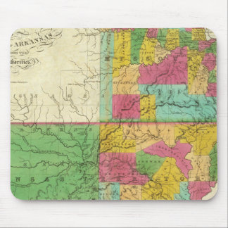 State of Missouri and Territory of Arkansas Mouse Mat