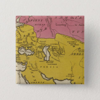 State of Nations at the Christian aera 15 Cm Square Badge