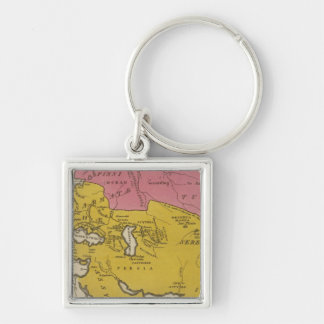 State of Nations at the Christian aera Key Ring