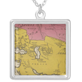 State of Nations at the Christian aera Square Pendant Necklace
