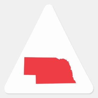 STATE OF NEBRASKA TRIANGLE STICKER