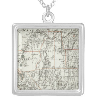 State Of Nevada Silver Plated Necklace