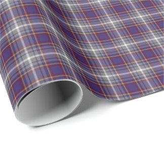State of Nevada Tartan Wrapping Paper