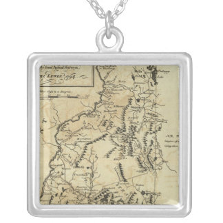 State of New Hampshire 3 Silver Plated Necklace