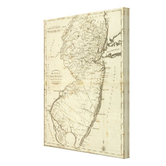 State of New Jersey Canvas Print